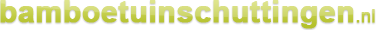 Bamboo text logo