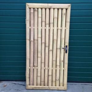 Bamboe deur naturel front